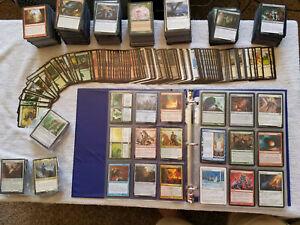 MODERN Looking Mtg Cards in Binder, Commander Decks and bulk Mtg Cards. English