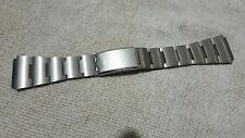 18mm seiko watch stainless steel  bracelet strap new