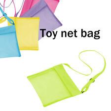 Children's Toy Storage Bag Mesh Shoulder Bag Messenger Bag Sea Shell New