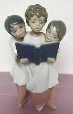 Lladro Boys Choir Trio #6203 Figurine - Excellent Condition/No Original Box
