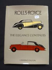 Rolls Royce the Elegance Continues     Lot A-086