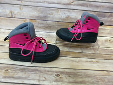 Nike ACG WoodSide 2 Youth Girls 1 Y Duck Boots Pink Rain Winter Shoes 524877-600