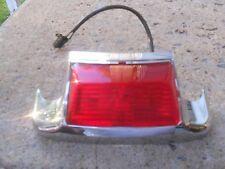 59683-03 2004 FLSTC REAR FENDER ,LIGHT & WIRING WHIP,  CHROME HOUSING
