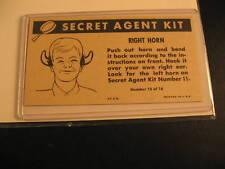 1966 Topps Get Smart Secret Agent Proof #12