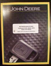 John Deere Schlepper 6520 6620 6820 6920 6920S Betriebsanleitung
