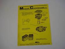 advertising Pubblicità 1983 MOTORI MINARELLI