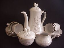 ROYAL TOGNANA PORCELLANE, ITALY ~15 PIECE COFFEE SET