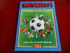 Album Figurine Calciatori Edis 1985-86 Vuoto! (+5)!! da Edicola!