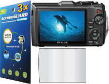 3x Clear LCD Screen Protector Guard Film for Olympus Tough TG-3 TG-4 TG-5 iHS