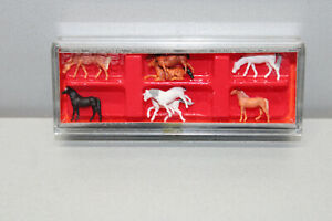 Preiser 88578 Figurine Set Horses Gauge Z Original Packaging