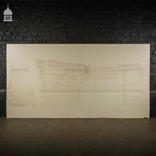 More details for huge scale diagram of 3rd rate maritime nautical war ship