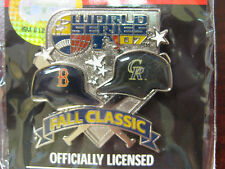 Boston Red Sox vs. Colorado Rockies Pin - 2007 World Series Duel