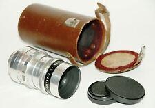 M42 - Meyer-Optik Görlitz Trioplan 2,8/ 100mm red V 15Blade Caps Case ***TOP***