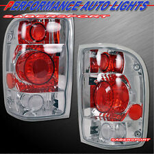 1998-1999 FORD RANGER ALTEZZA TAIL LIGHTS CHROME PAIR 98 99 00 EXCEPT FLARESIDE