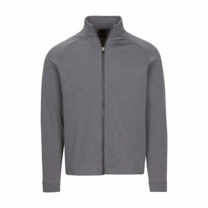 "Mens Dunning Stein Full Zip Grey Sweater -  Small 40-42"""