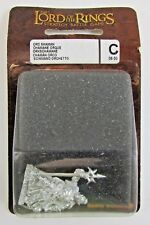 Games Workshop LOTR Orc Shaman OOP 06-50C Lord of The Rings Metal FREE SHIP
