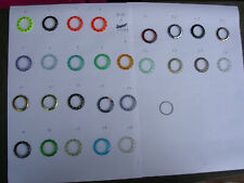SWATCH RING GHIERA for SCUBA NEW supporto originale + steel ring  38,3mm.