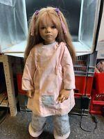 Annette Himstedt Vinyl Puppe Liri 78 cm. Top Zustand