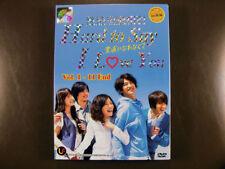 Japanese Drama Hard To Say I Love You DVD English Subtitle
