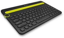 Logitech K480 Black Bluetooth Multi-Device Keyboard for PC Mac Tablet Smartphone
