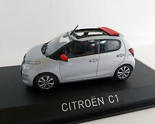 1 43 NOREV Citroen C1 B4 Airscape 2014 Lightgrey/red
