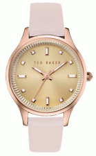 Ted Baker Ladies Zoe Saffiano Watch -   OS TE10030743 NEW