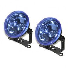 90mm Delantero Antiniebla Faros 12V Azul Luz para Volkswagen Golf Passat Polo