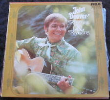 JOHN DENVER Rhymes & Reasons LP