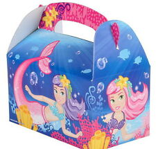 24 LITTLE MERMAID PARTY TREAT BOXES FAVORS GOODY BAG  PRIZE GIFT CARNIVAL TOYS