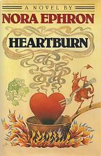 "NORA EPHRON ""Heartburn"" (1983) SIGNED First Printing with Drawing FINE Condition"