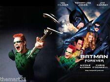 Batman Forever (1995) VHS Warner   1a Ed.