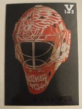 2015-16 Final Vault Jimmy Howard The Mask IV SILVER 1/5 06-07 Between The Pipes