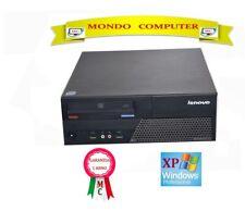 LENOVO THINK CENTRE / CPU INTEL CORE 2 DUO E4500 / WINDOWS XP PRO LICENZA