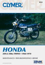 CLYMER REPAIR MANUAL Fits: Honda CB350F Four,CB350G Twin (Disc Brake),CB350K Twi