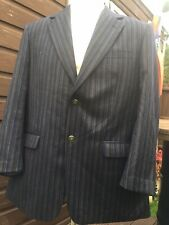 BROOK TAVERNER STRIPED BOATING BLAZER Mod UK 44R Large Goodwood Revival Vintage
