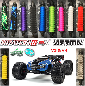 *NEW* 1/8 Kraton 6s Arrma RC - Shock Boots Dust Covers Wraps - standard