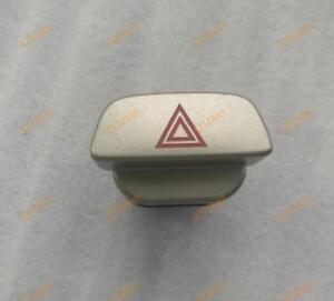 Hazard Emergency Flasher Warning Switch Button Silver For Ford Focus MK2 2 04-11