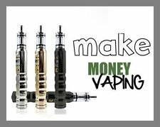 "Fully Stocked Dropship E-CIG VAPE Website Business. High Margin ""300 Hits a Day"""