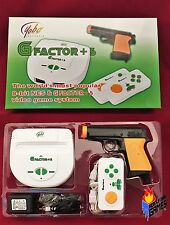 New Yobo G Factor 5 System -- 8-bit NES Game Player w/ Light Gun & 2 Controllers