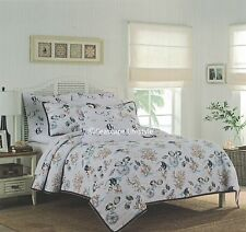 2-pc ☆ TROPICAL MARINE LIFE ☆ Twin Quilt Set SIGRID OLSEN Coastal Beach House