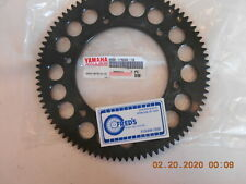 8DM-1760A-19-00 starter gear, with bolts for yamaha sleds, see list for appl.