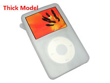 White Silicone Skin Cover Case for iPod Video 5th 5.5th 80GB Classic THICK Model