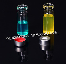 2ml Clear Vial Small  HPLC GC 2ml 11mm crimp top 100pcs/Pack Liquid Collection