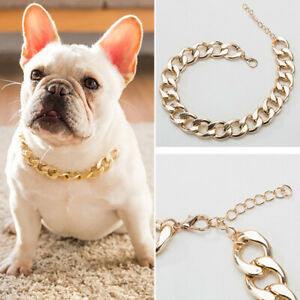 Pet Dog Chain Collar Plastic Necklace Jewelry Accessories For Puppy Cat