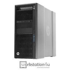 HP Z840 Workstation 2x Xeon e5-2683v3 RAM 64GB Quadro K6000 SSD 1tb + WINDOWS 10