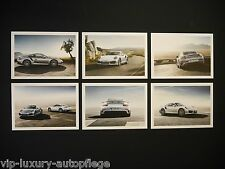 Original Porsche 911 Turbo Jubiläum Postkarten / anniversary postcard set / TOP