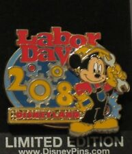 DISNEY DLR LABOR DAY 2008 MICKEY MOUSE CONSTRUCTION WORKER LE 1000 PIN