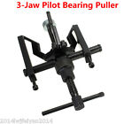 3 Jaw Pilot Bearing Puller Car Motorcycle Bushing Gear Extractor Removing Tool