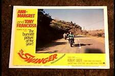 SWINGER 1966 LOBBY CARD #4 BIKER MOTORCYCLE