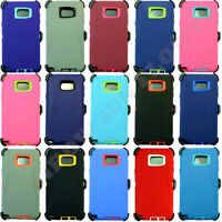 For Samsung Galaxy Note 5 Case Cover (Belt Clip Holster Fits Otterbox Defender)